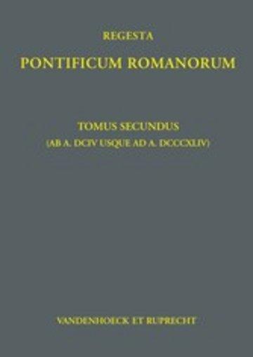 eBook Regesta Pontificum Romanorum Cover