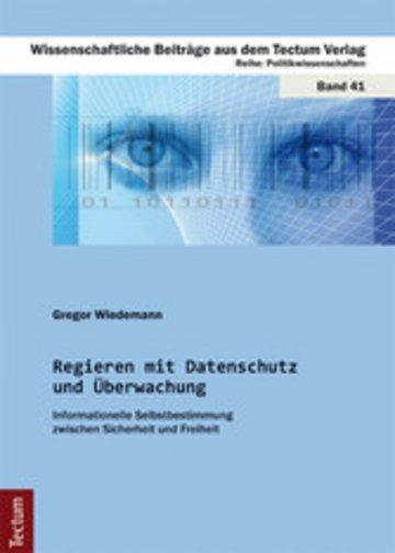 eBook Regieren mit Datenschutz und Überwachung Cover