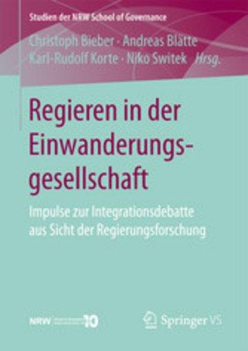eBook Regieren in der Einwanderungsgesellschaft Cover