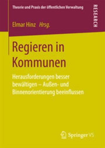 eBook Regieren in Kommunen Cover