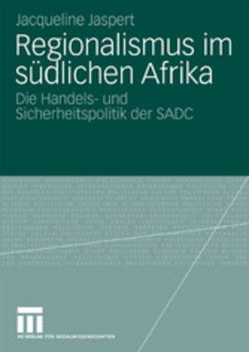 eBook Regionalismus im südlichen Afrika Cover