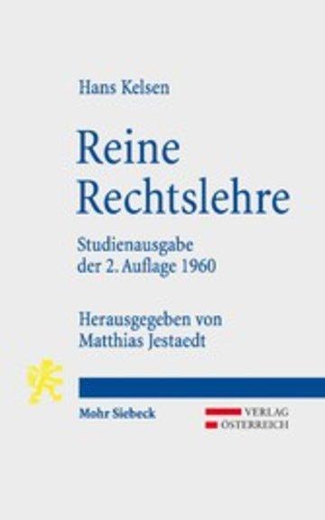 eBook Reine Rechtslehre Cover