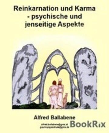 eBook Reinkarnation und Karma - psychische und jenseitige Aspekte Cover
