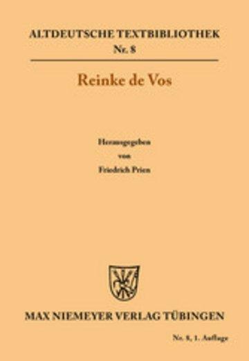 eBook Reinke de Vos Cover