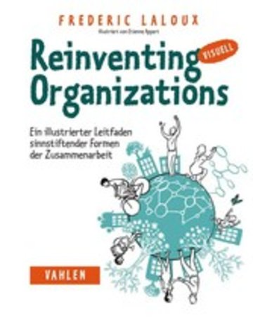 eBook Reinventing Organizations visuell Cover
