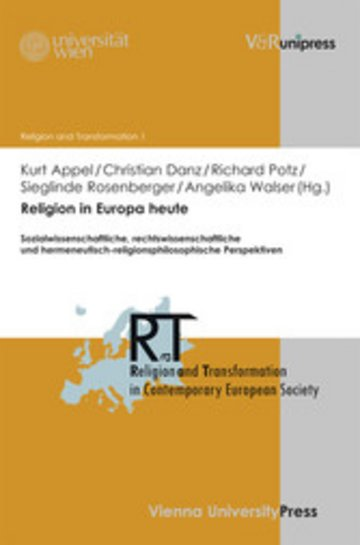 eBook Religion in Europa heute Cover