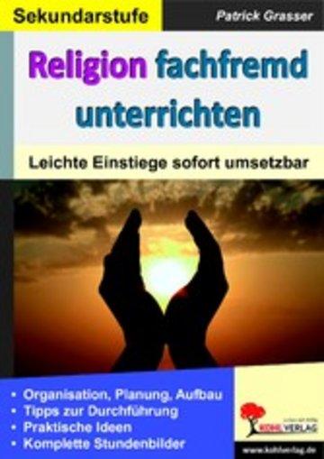 eBook Religion fachfremd unterrichten / Sekundarstufe Cover