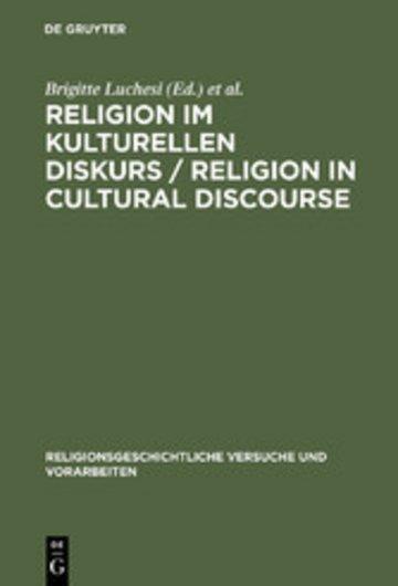 eBook Religion im kulturellen Diskurs / Religion in Cultural Discourse Cover