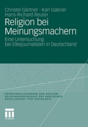 eBook Religion bei Meinungsmachern Cover