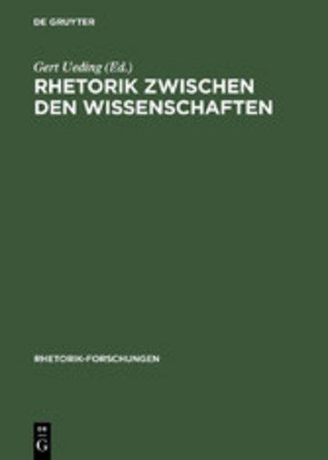 eBook Rhetorik zwischen den Wissenschaften Cover