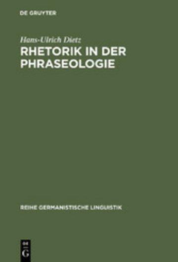 eBook Rhetorik in der Phraseologie Cover