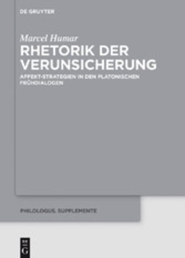 eBook Rhetorik der Verunsicherung Cover