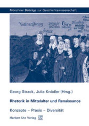 eBook Rhetorik in Mittelalter und Renaissance Cover