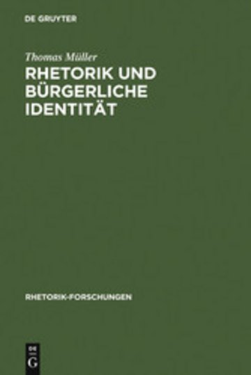 eBook Rhetorik und bürgerliche Identität Cover