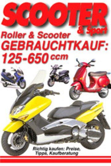 eBook Roller & Scooter: Gebrauchtkauf 125-650 ccm Cover