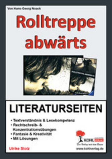 eBook Rolltreppe abwärts - Literaturseiten Cover