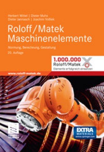 eBook Roloff/Matek Maschinenelemente Cover