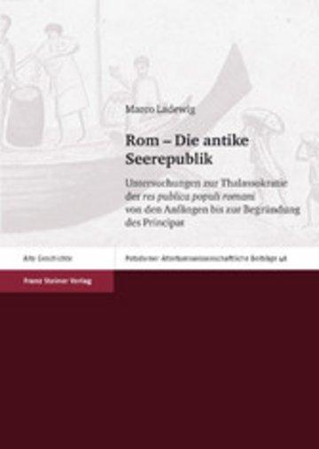 eBook Rom - Die antike Seerepublik Cover