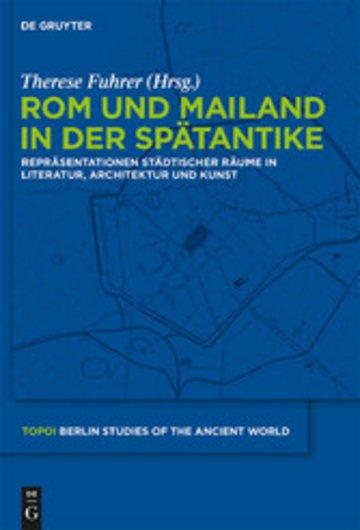 eBook Rom und Mailand in der Spätantike Cover