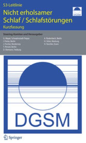 eBook S 3-Leitlinie. Nicht erholsamer Schlaf - Schlafstörungen Cover