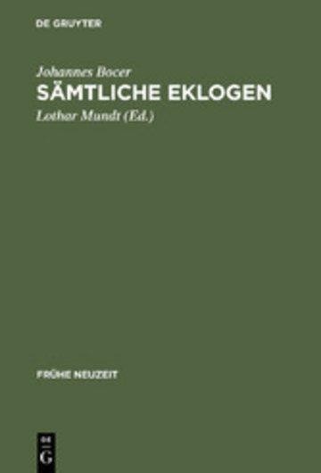 eBook Sämtliche Eklogen Cover