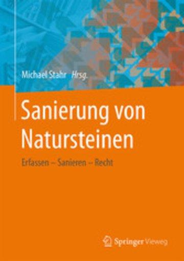 eBook Sanierung von Natursteinen Cover