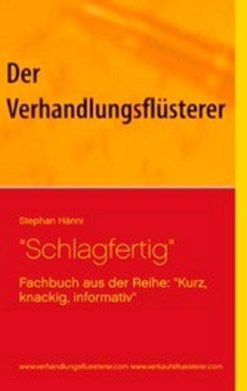 """eBook """"Schlagfertig"""" Cover"""