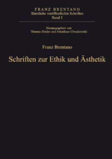 eBook Schriften zur Ethik und Ästhetik Cover