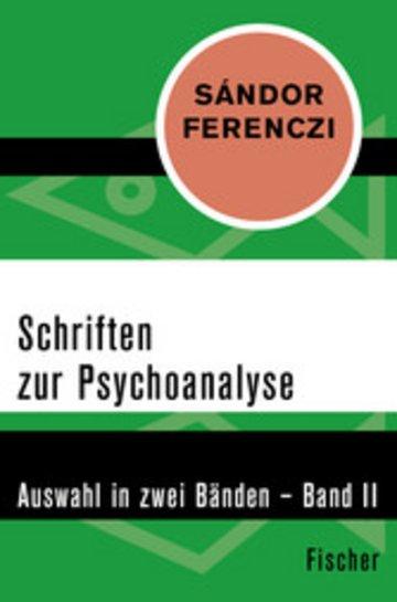 eBook Schriften zur Psychoanalyse Cover