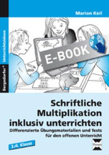 eBook Schriftliche Multiplikation inklusiv unterrichten Cover