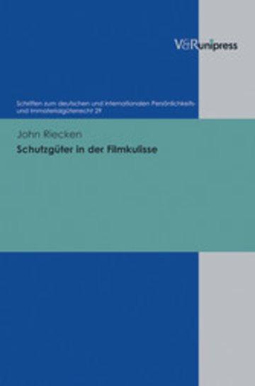 eBook Schutzgüter in der Filmkulisse Cover