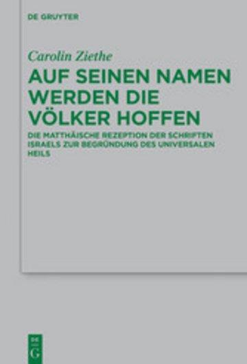 eBook Auf seinen Namen werden die Völker hoffen Cover