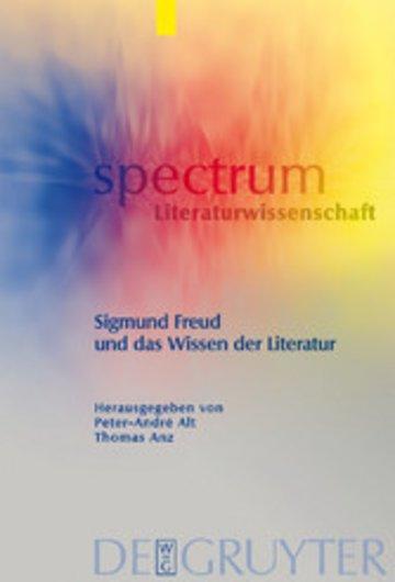 eBook Sigmund Freud und das Wissen der Literatur Cover