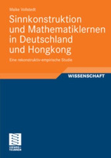 eBook Sinnkonstruktion und Mathematiklernen in Deutschland und Hongkong Cover