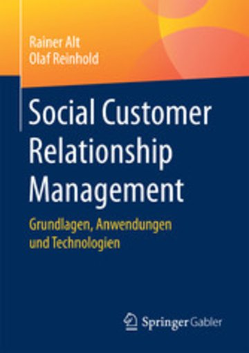 eBook Social Customer Relationship Management Cover