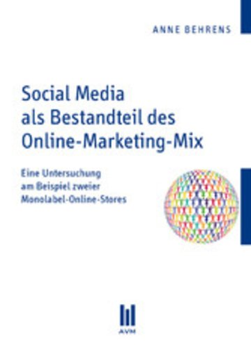 eBook Social Media als Bestandteil des Online-Marketing-Mix Cover