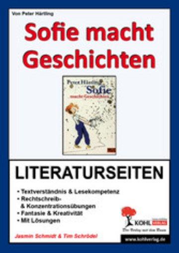 eBook Sofie macht Geschichten - Literaturseiten Cover