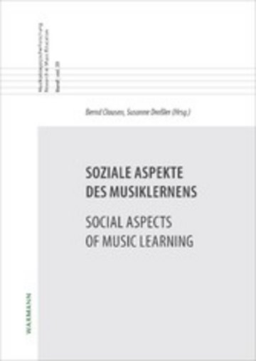 eBook Soziale Aspekte des Musiklernens Social Aspects of Music Learning Cover