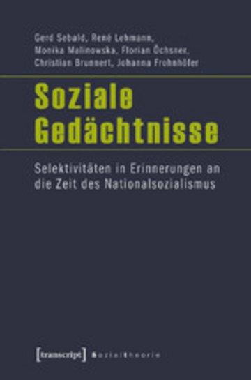 eBook Soziale Gedächtnisse Cover