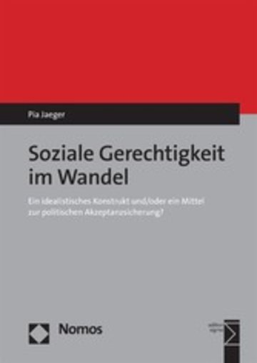 eBook Soziale Gerechtigkeit im Wandel Cover