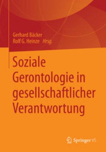 eBook Soziale Gerontologie in gesellschaftlicher Verantwortung Cover
