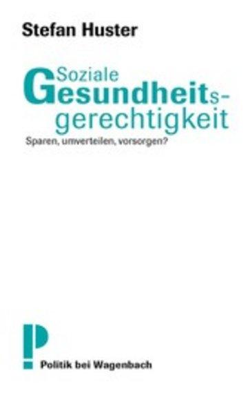 eBook Soziale Gesundheitsgerechtigkeit Cover