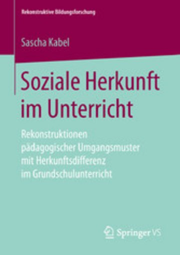 eBook Soziale Herkunft im Unterricht Cover