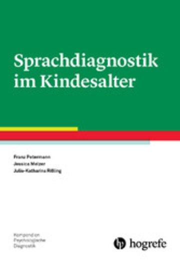 eBook Sprachdiagnostik im Kindesalter Cover