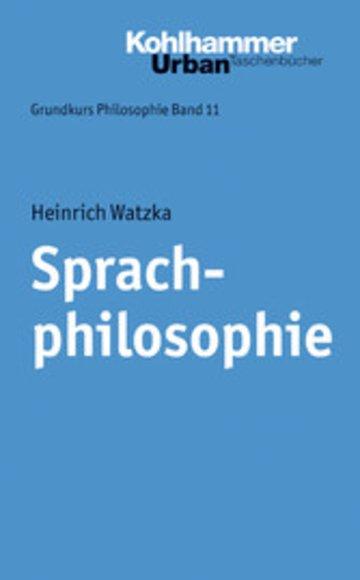 eBook Sprachphilosophie Cover