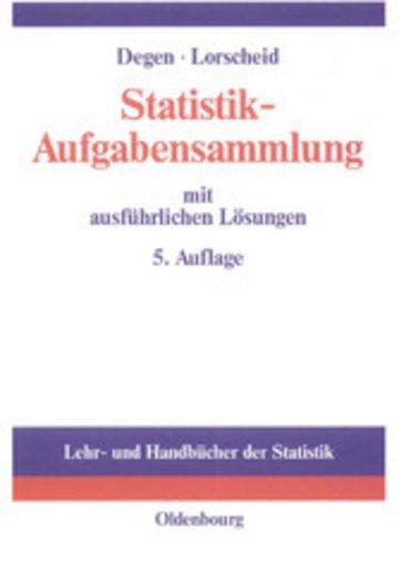eBook Statistik-Aufgabensammlung mit ausführlichen Lösungen Cover