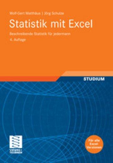 eBook Statistik mit Excel Cover