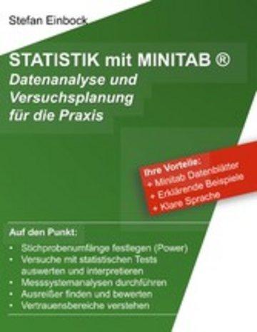 eBook Statistik mit Minitab Cover