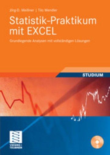 eBook Statistik-Praktikum mit Excel Cover