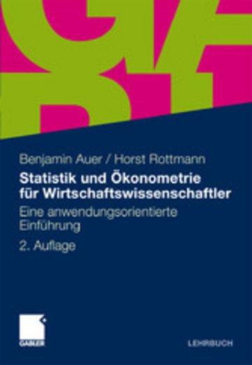 eBook Statistik und Ökonometrie für Wirtschaftswissenschaftler Cover